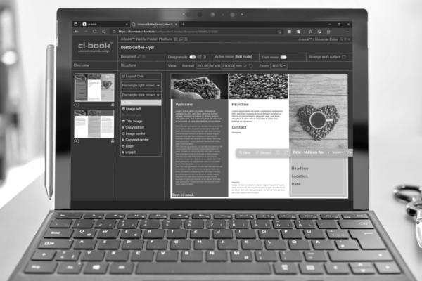 ci-book - Universal Editor -Screenshot